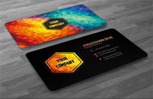 Deltavolks technologies business cards business cards colourmoves